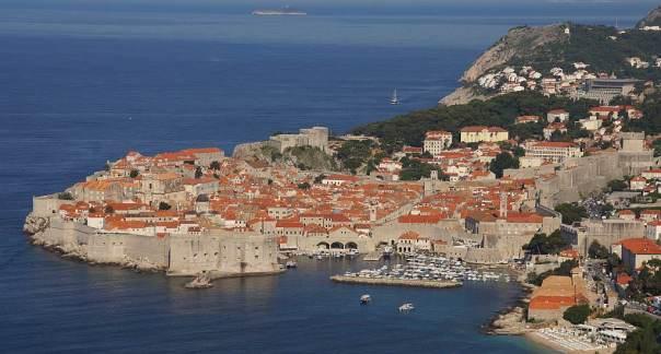 0050 Dubrovnik Grad - die Altstadt morgens nun mal  im Sonnenlicht - Foto © Wolfgang Pehlemann DSC05195