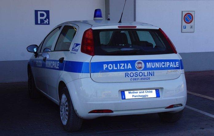 0127 64 Wenn P wie Polizia Kinderwagen kaufen fährt dann darf das - Intercampianer-Foto © Wolfgang Pehlemann DSC07762